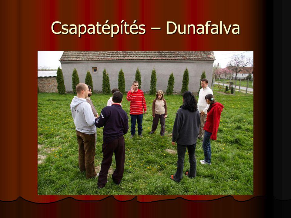 Csapatépítés – Dunafalva