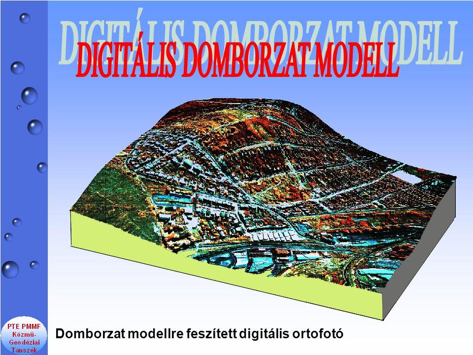 DIGITÁLIS DOMBORZAT MODELL