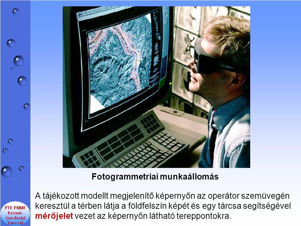 Fotogrammetriai munkaállomás