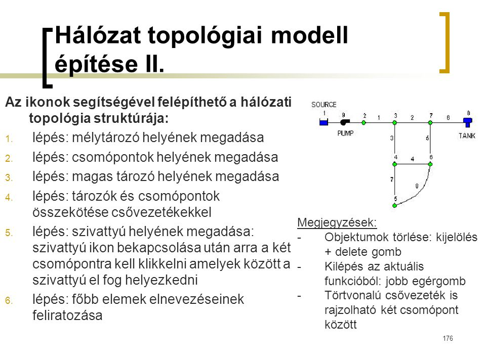 Hálózat topológiai modell építése II.