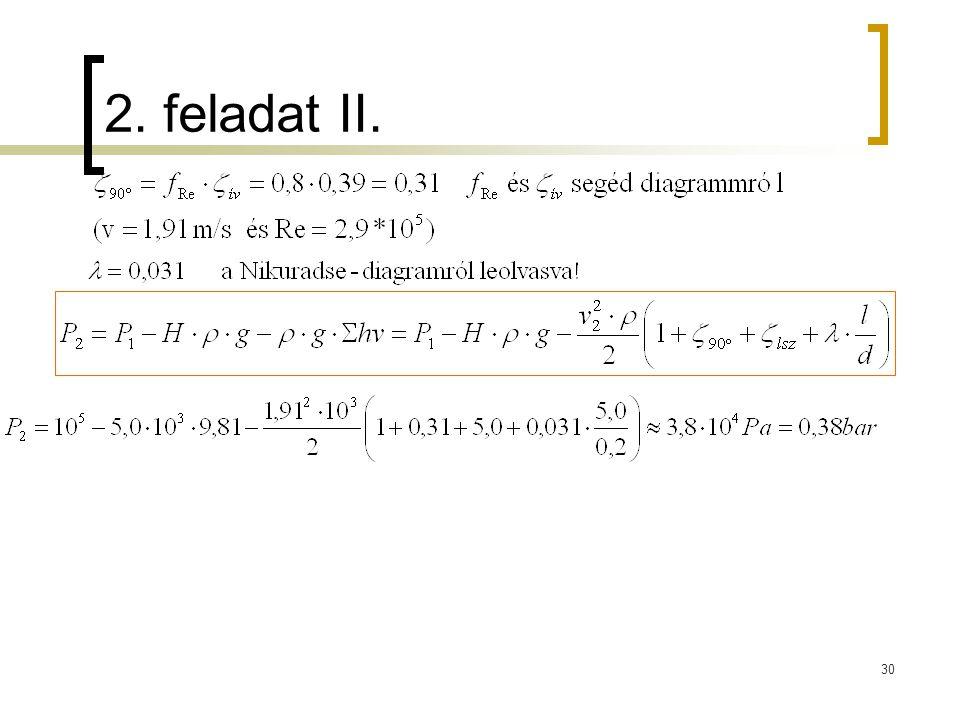 2. feladat II.