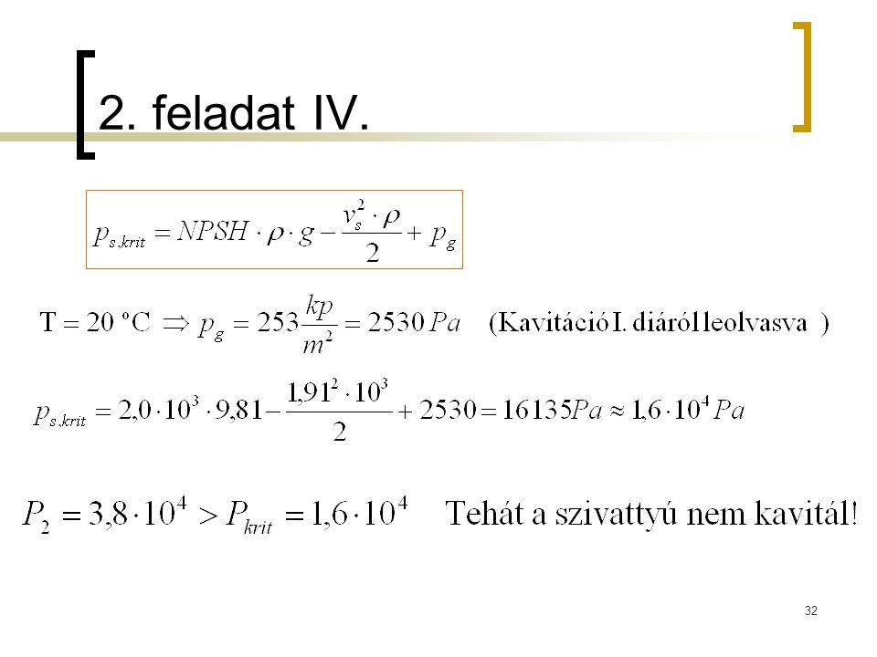 2. feladat IV.