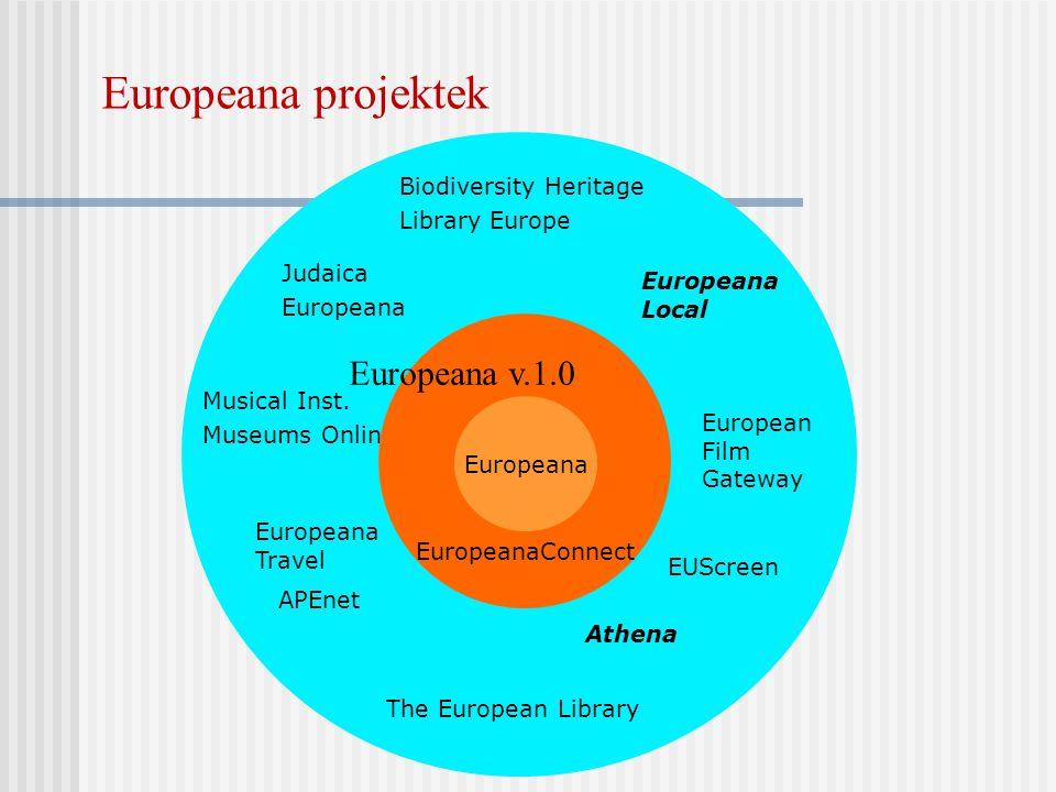 Europeana projektek Europeana v.1.0 Biodiversity Heritage