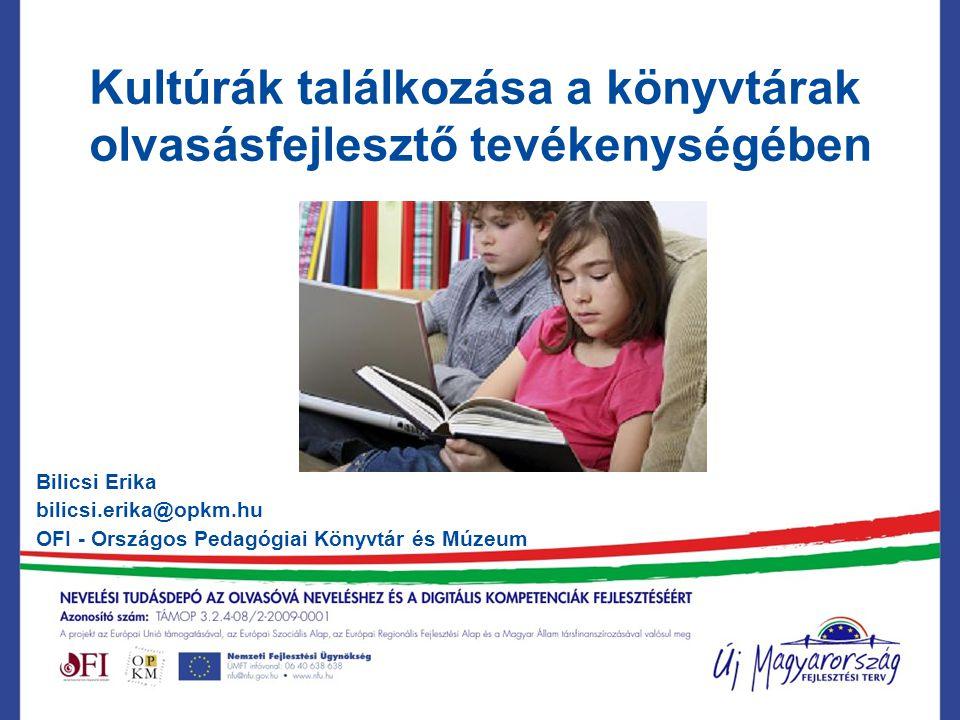 Kultúrák találkozása a könyvtárak olvasásfejlesztő tevékenységében