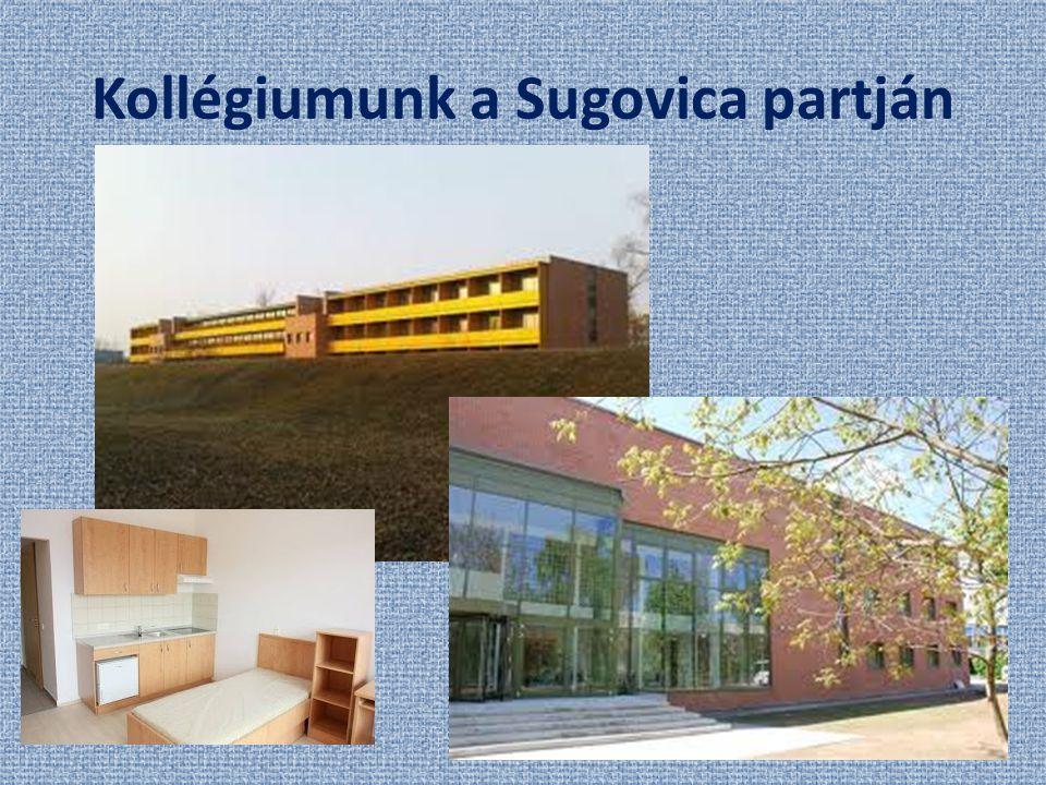 Kollégiumunk a Sugovica partján