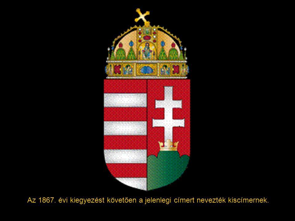 Az 1867. évi kiegyezést követően a jelenlegi címert nevezték kiscímernek.