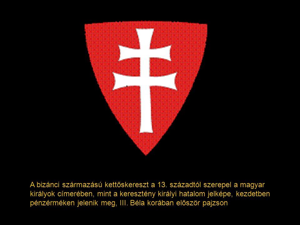 A bizánci származású kettőskereszt a 13