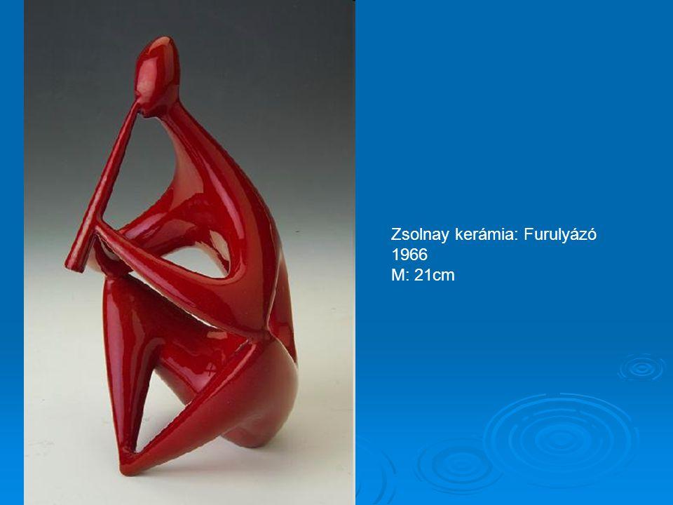 Zsolnay kerámia: Furulyázó