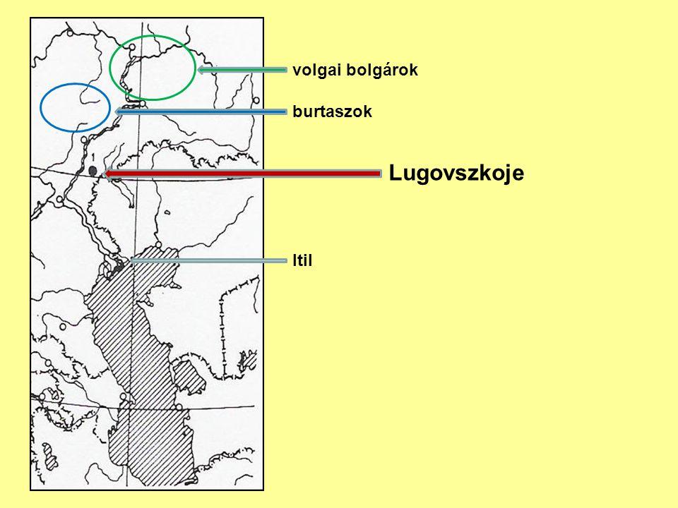volgai bolgárok burtaszok Lugovszkoje Itil