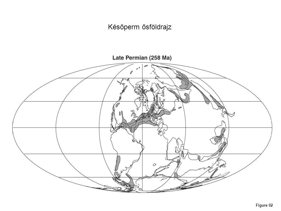 Későperm ősföldrajz Figure 02