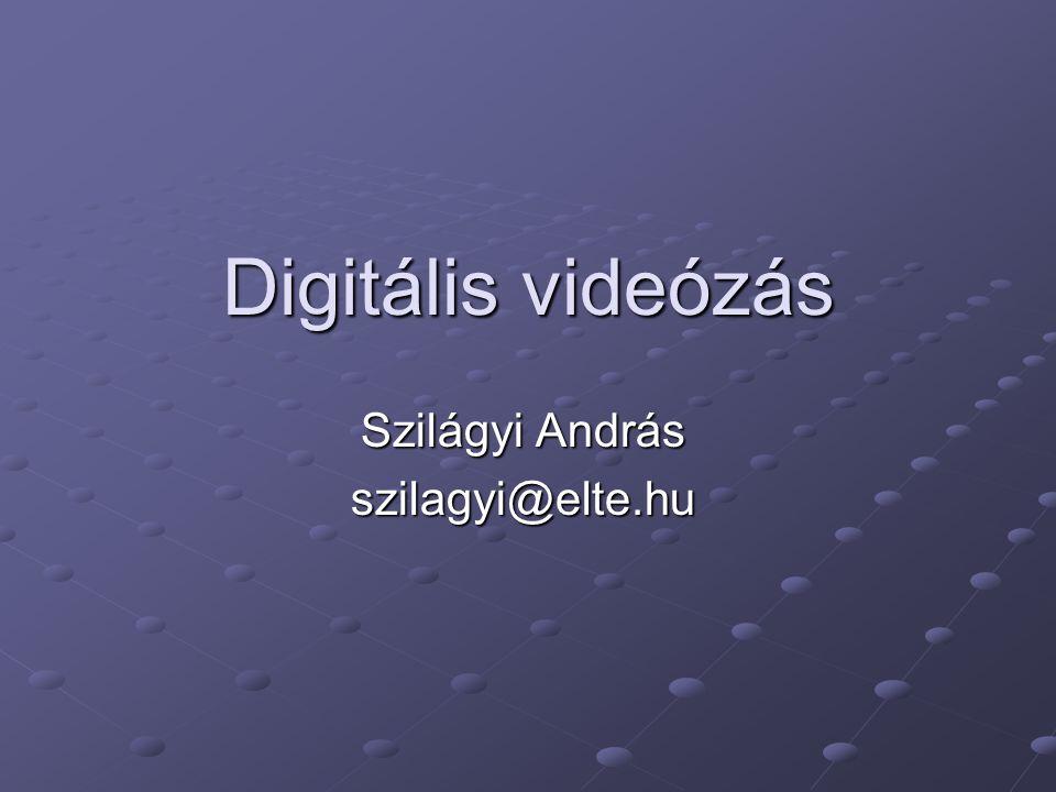Szilágyi András szilagyi@elte.hu