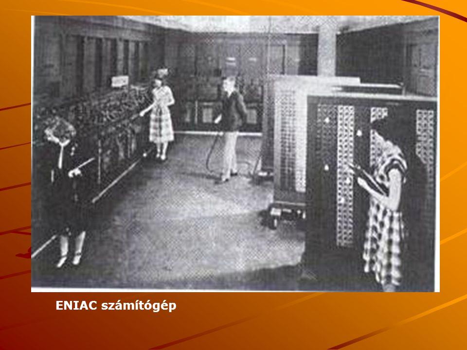 ENIAC számítógép