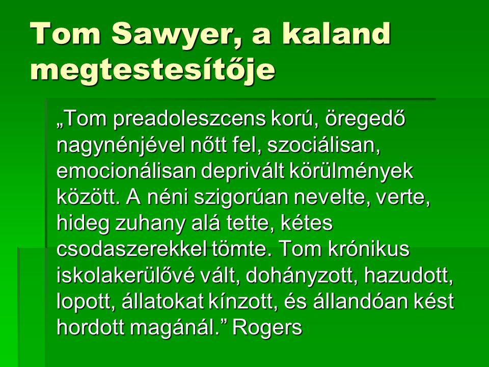 Tom Sawyer, a kaland megtestesítője