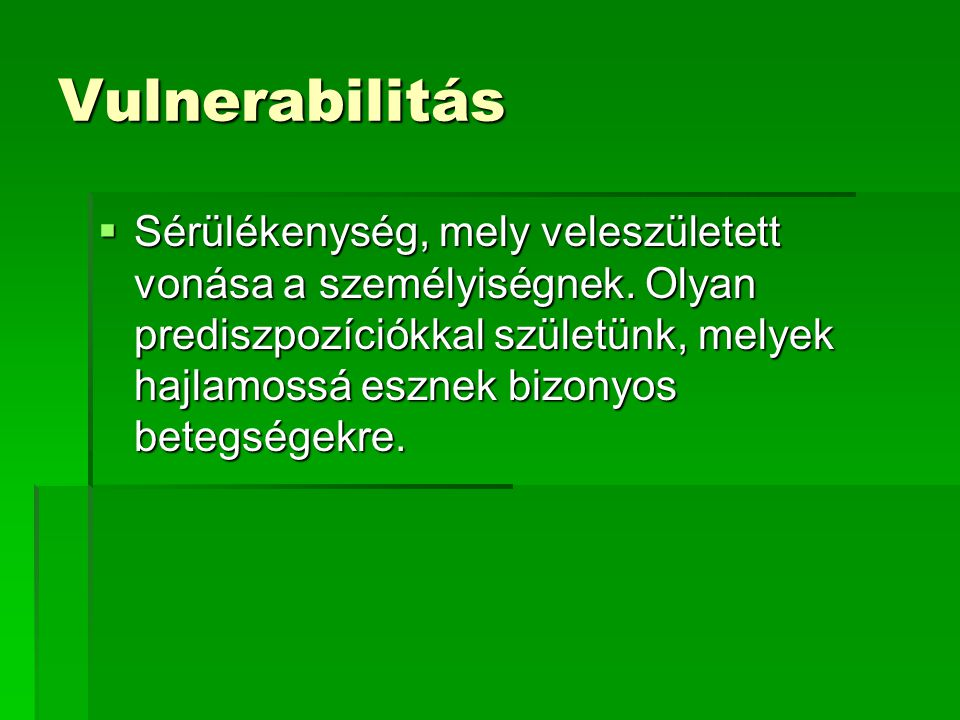 Vulnerabilitás