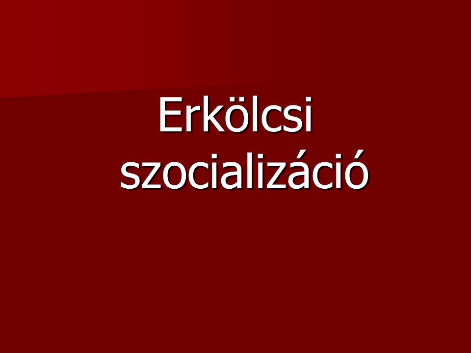 Erkölcsi szocializáció