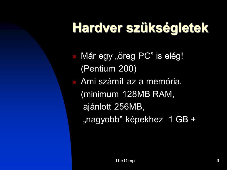 """Hardver szükségletek Már egy """"öreg PC is elég! (Pentium 200)"""