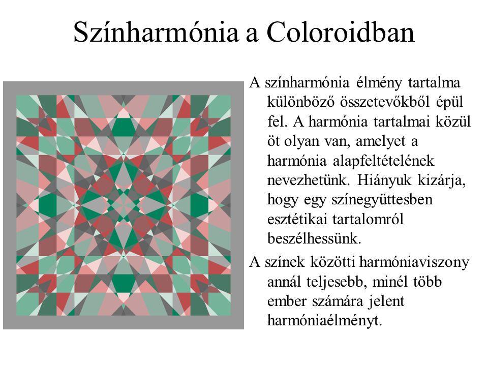 Színharmónia a Coloroidban