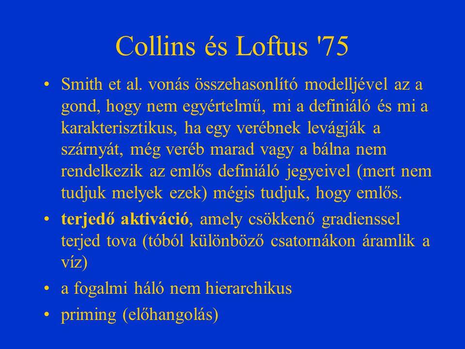 Collins és Loftus 75