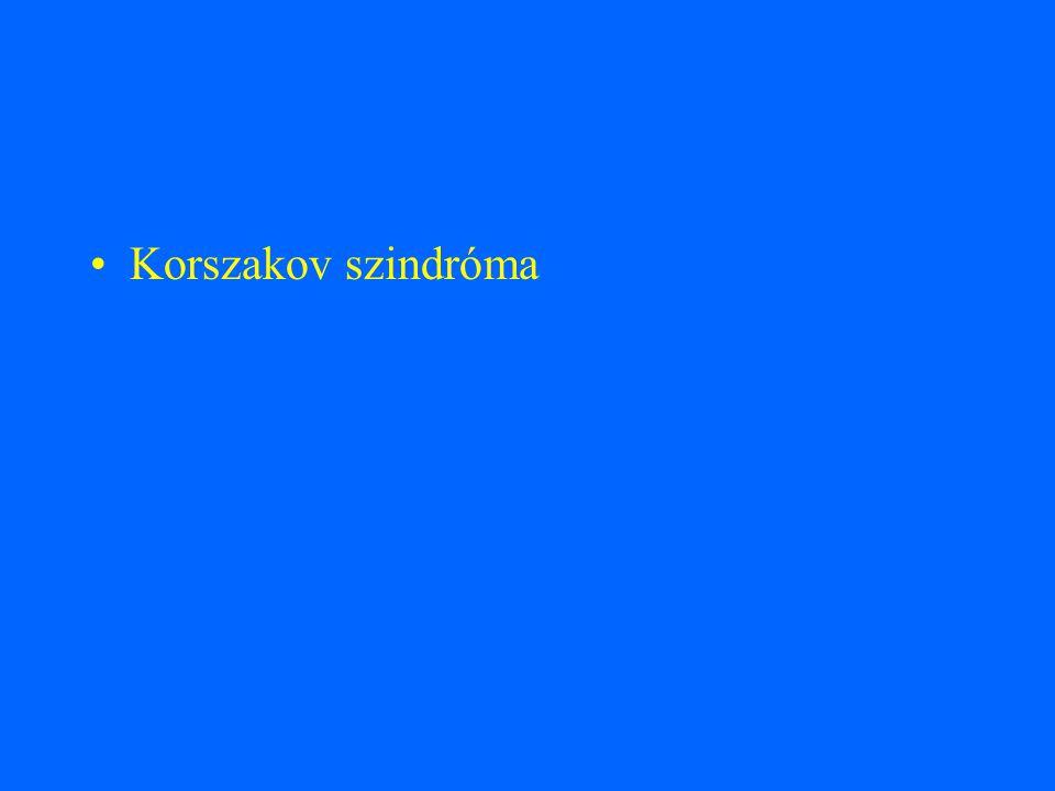 Korszakov szindróma