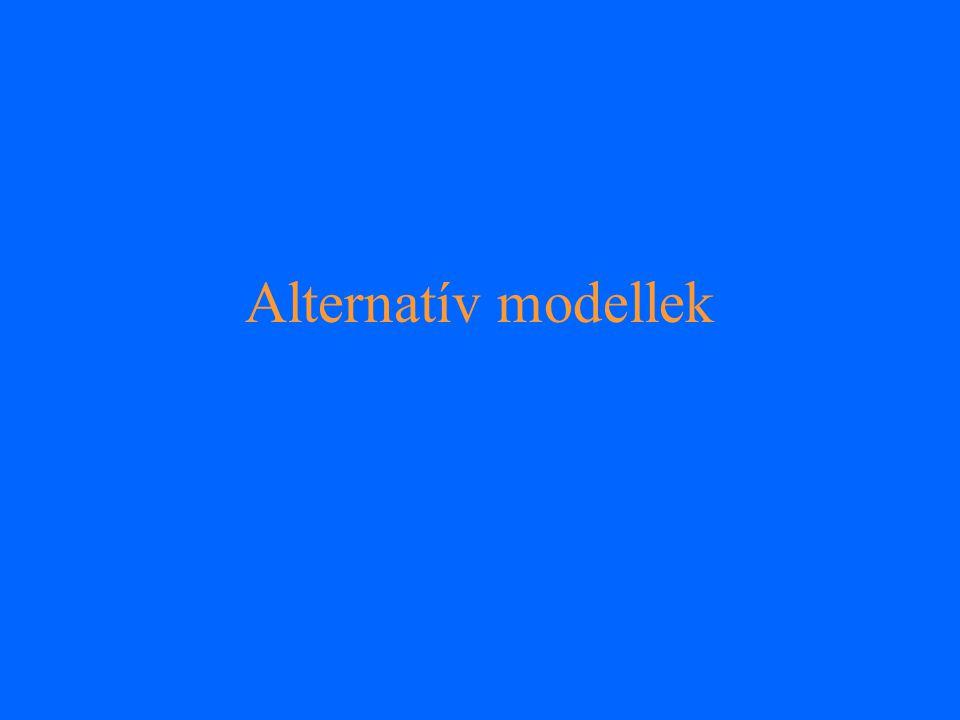 Alternatív modellek