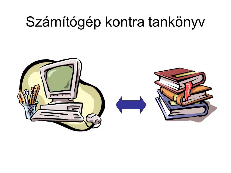 Számítógép kontra tankönyv