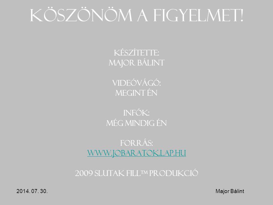 2009 Slutak Filltm produkció