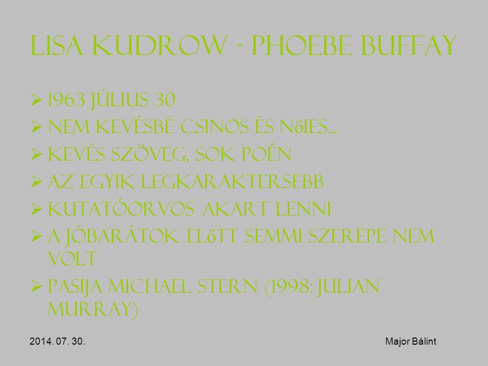 Lisa Kudrow - Phoebe Buffay