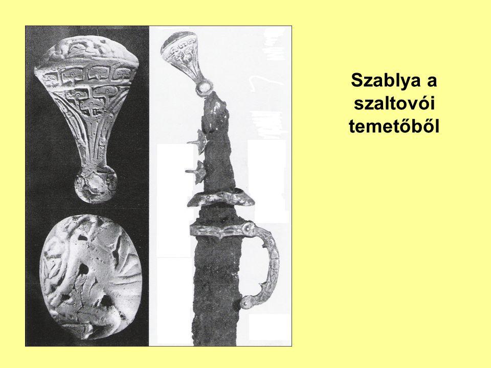 Szablya a szaltovói temetőből