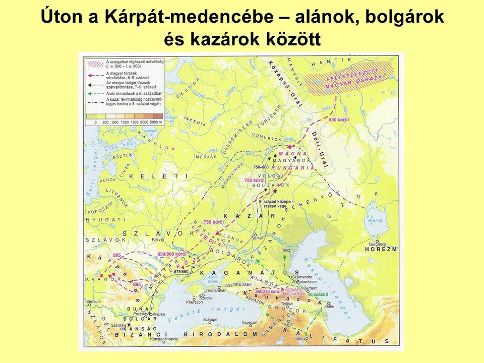 Úton a Kárpát-medencébe – alánok, bolgárok és kazárok között
