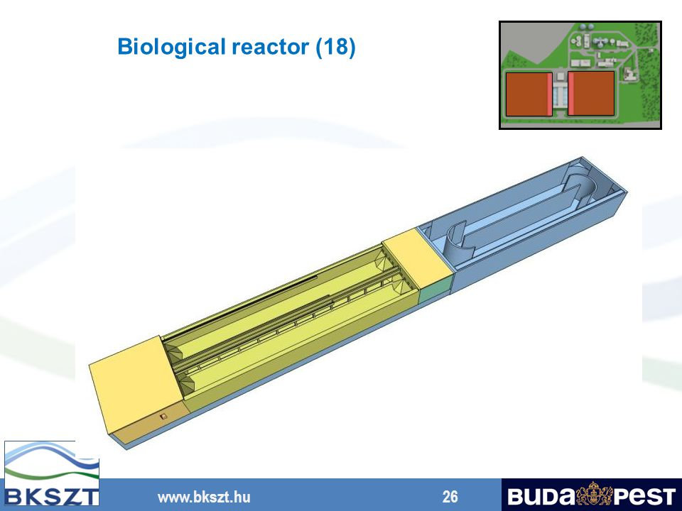 Biological reactor (18) Pre-anoxic zone