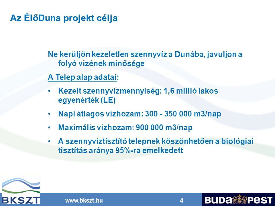 Az ÉlőDuna projekt célja