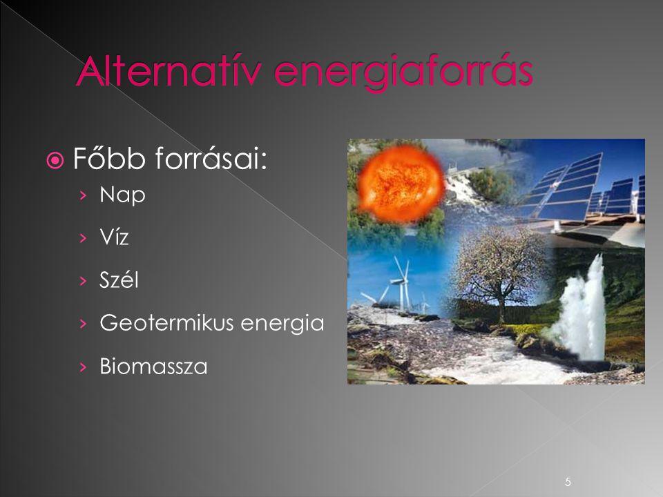 Alternatív energiaforrás