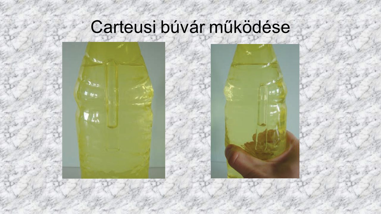 Carteusi búvár működése