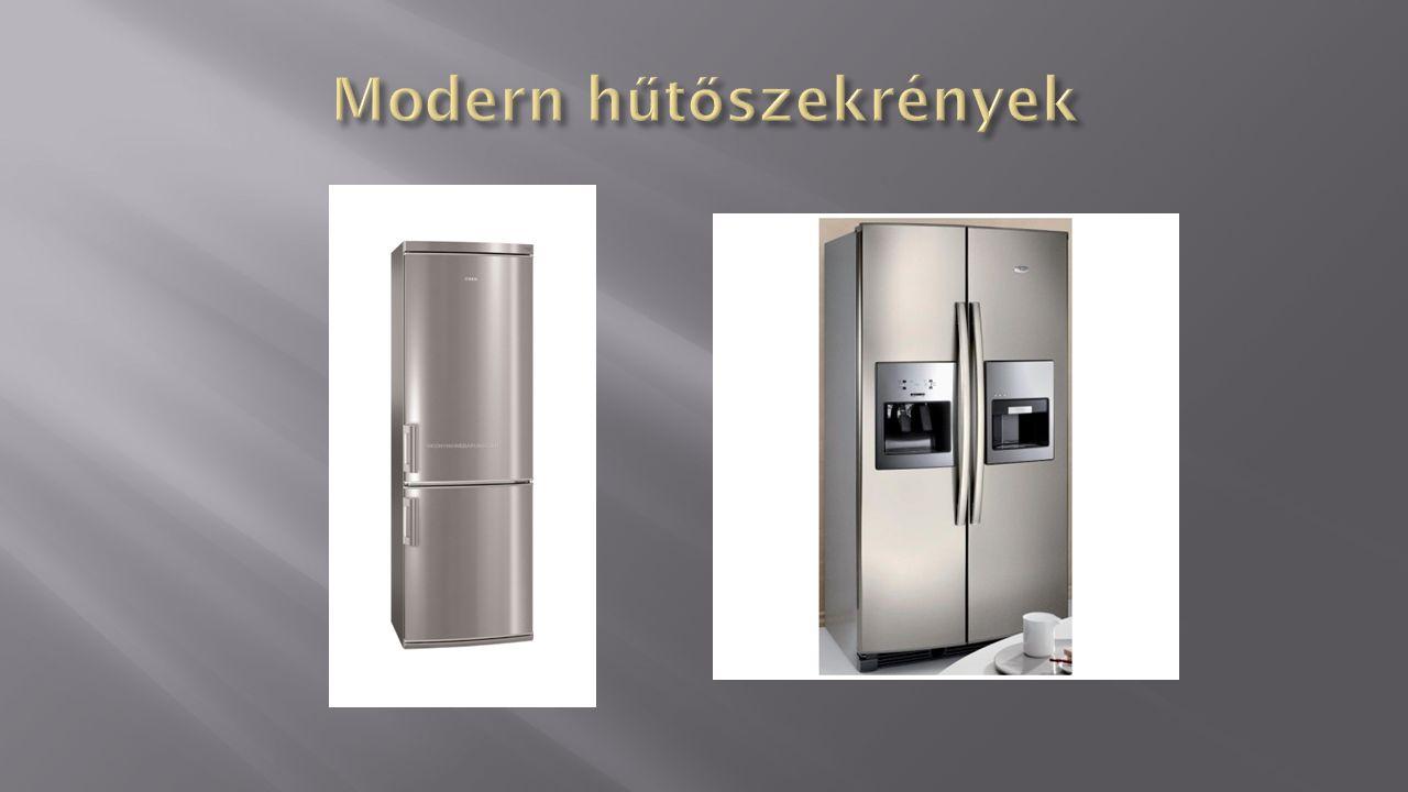 Modern hűtőszekrények