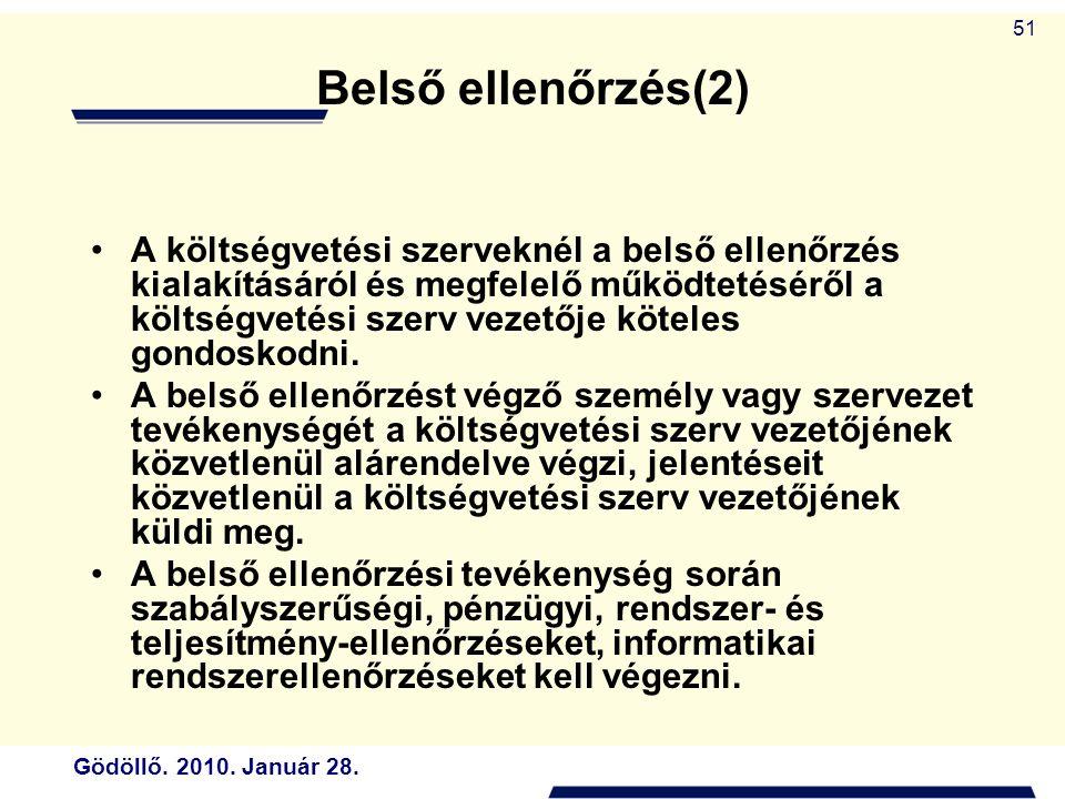 Belső ellenőrzés(2)