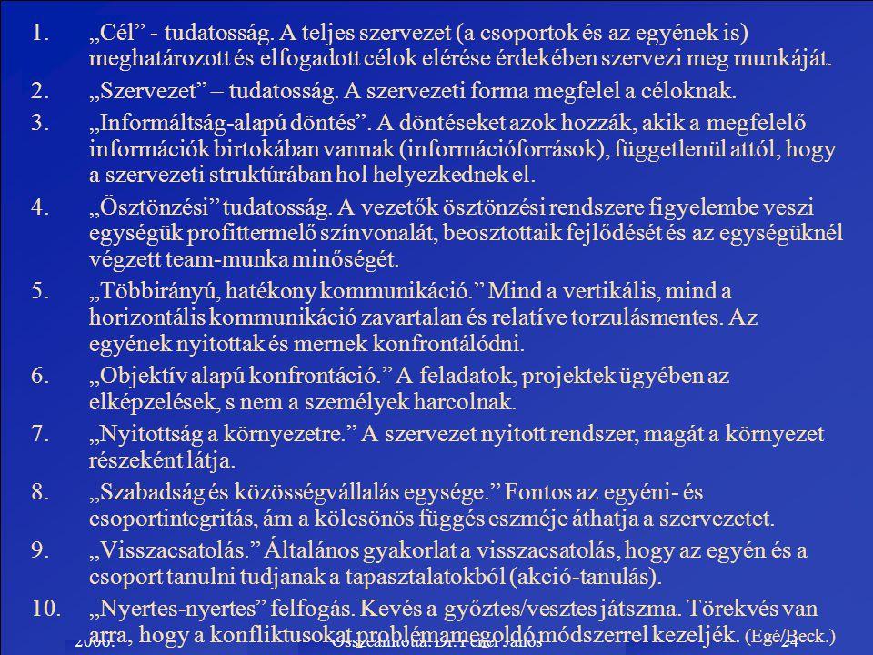 Összeállította: Dr. Fehér János