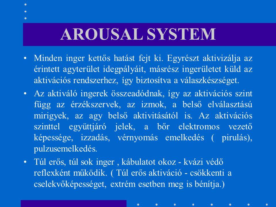 AROUSAL SYSTEM
