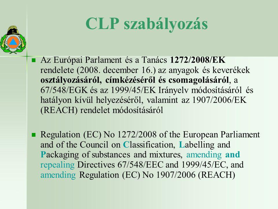 CLP szabályozás