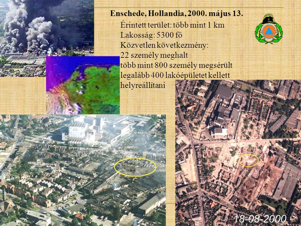 Enschede, Hollandia, 2000. május 13.