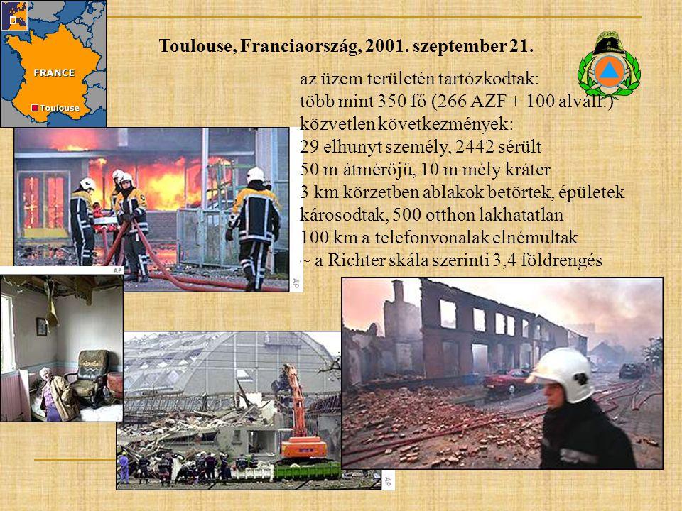Toulouse, Franciaország, 2001. szeptember 21.