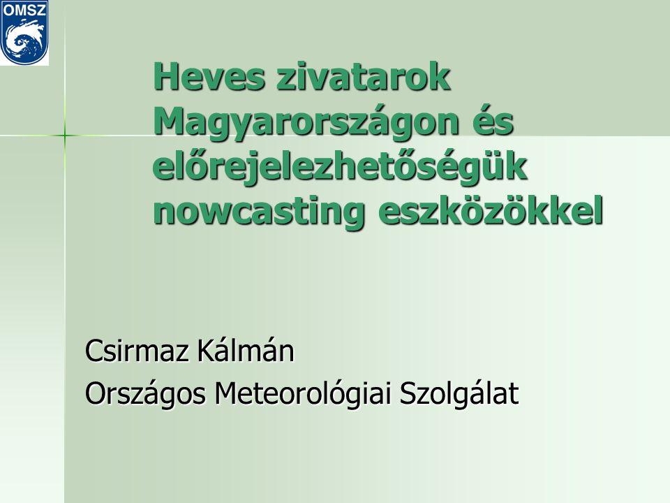 Csirmaz Kálmán Országos Meteorológiai Szolgálat