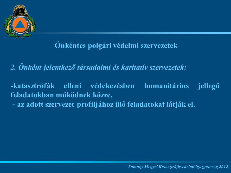 Önkéntes polgári védelmi szervezetek