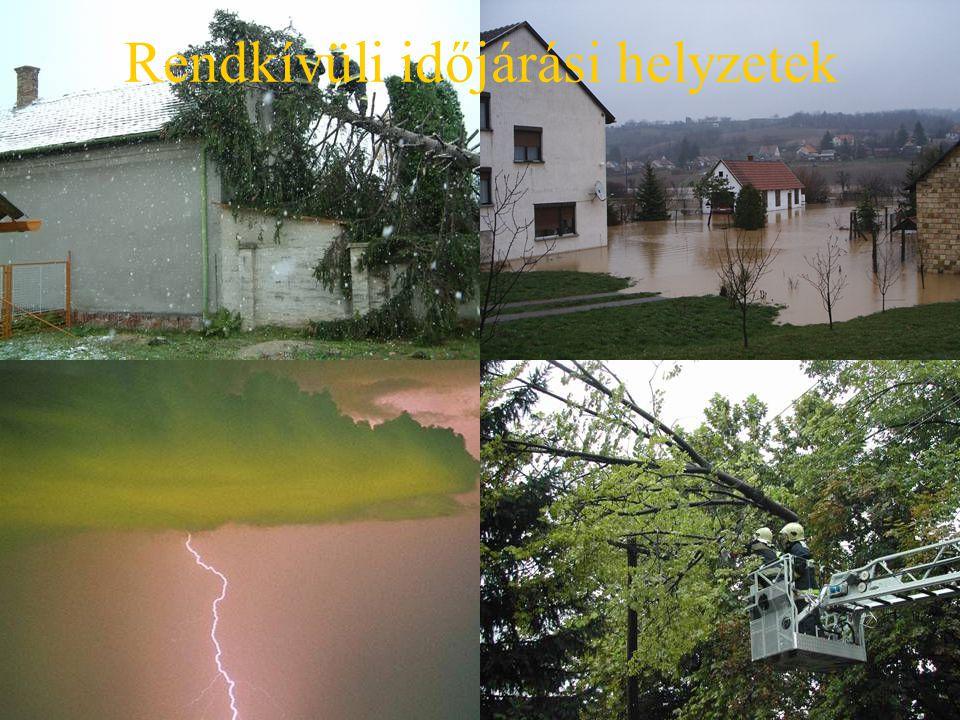Rendkívüli időjárási helyzetek