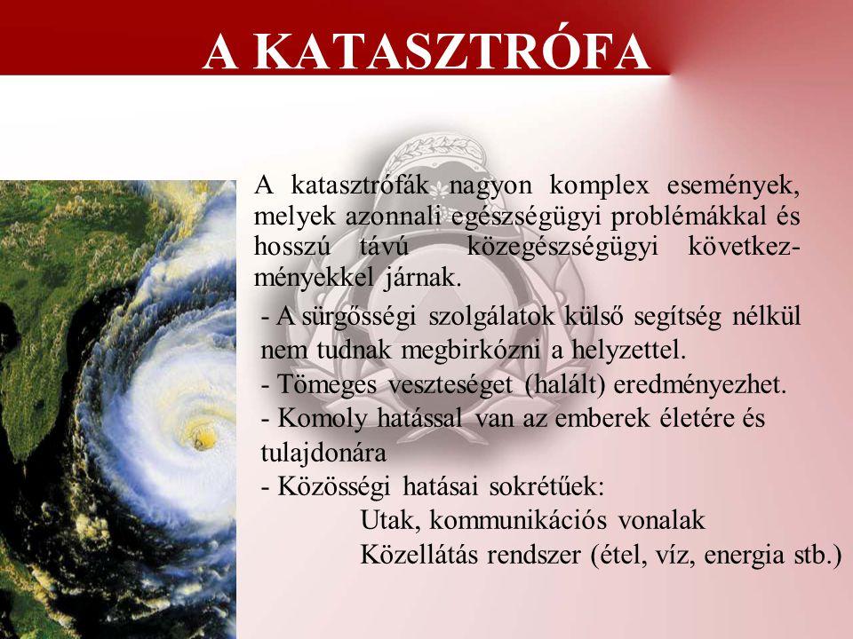 A KATASZTRÓFA