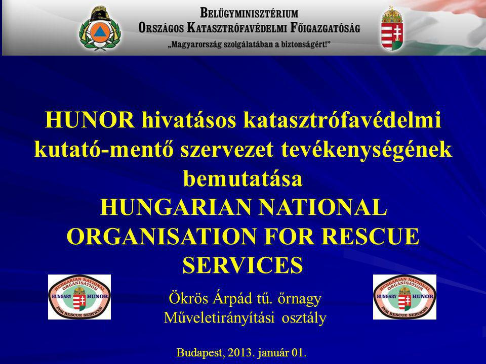 HUNGARIAN NATIONAL ORGANISATION FOR RESCUE SERVICES