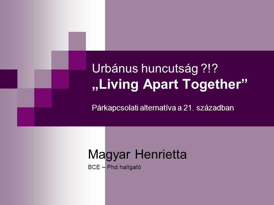 Magyar Henrietta BCE – Phd hallgató
