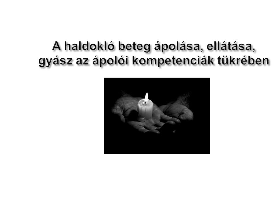 2010.04.02 A haldokló beteg ápolása, ellátása, gyász az ápolói kompetenciák tükrében 30
