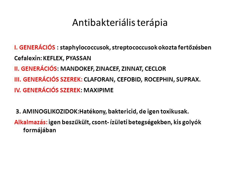 Antibakteriális terápia