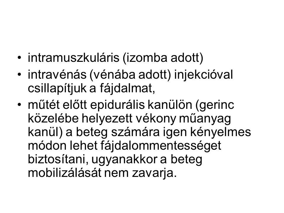 intramuszkuláris (izomba adott)