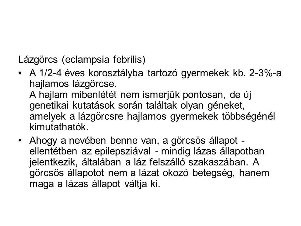 Lázgörcs (eclampsia febrilis)
